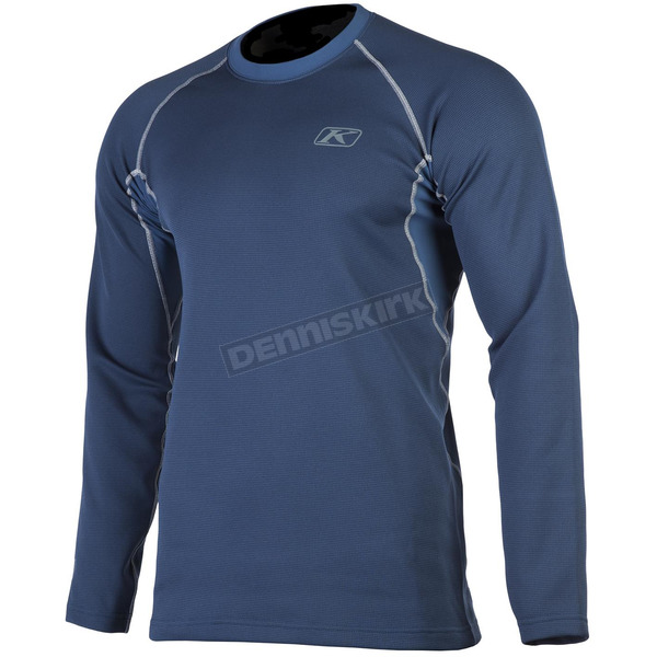 Klim Navy Aggressor 2.0 Base Layer Shirt - 3198-001-160-210