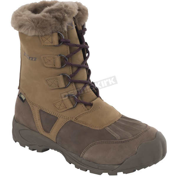 Klim Women's Brown/Tan Jackson GTX Boots - 3211-000-011-900
