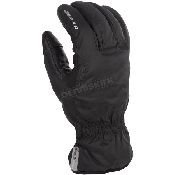 Klim Black 4.0 Insulated Glove Liners - 3222-000-120-000