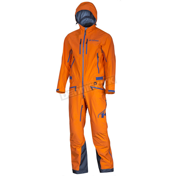 Klim Orange/Navy Lochsa One Piece Suit - 3262-000-120-400