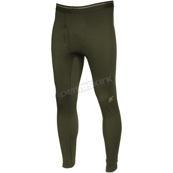 Klim Black Aggressor 3.0 Base Layer Pants - 3286-001-150-000