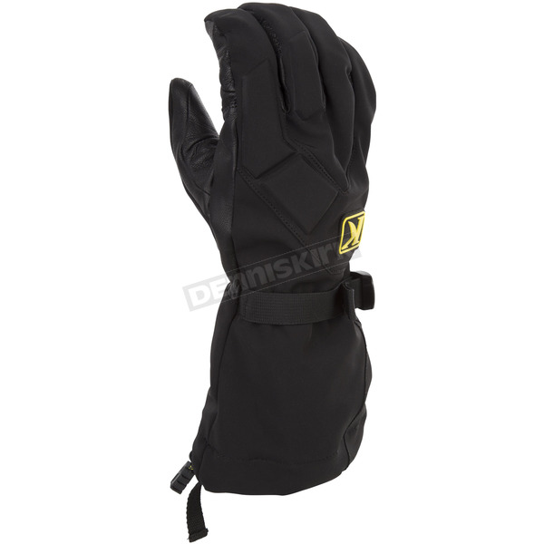 Klim Black Togwotee Gloves - 3337-004-170-000
