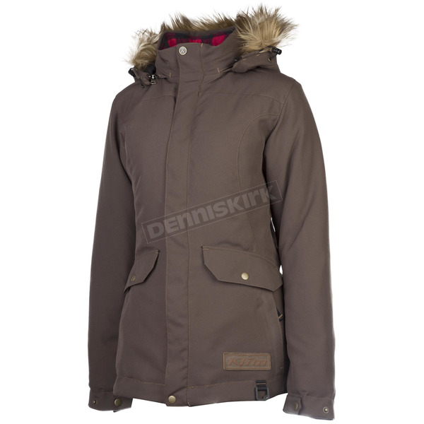 Klim Women's Brown Jackson Parka - 3382-000-120-900