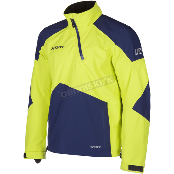 Klim Green/Navy PowerXross Pullover Jacket - 3572-007-150-300