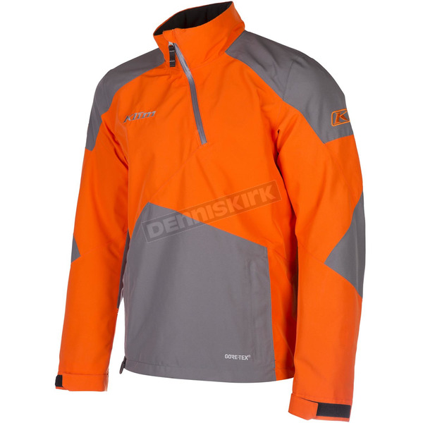 Klim Orange/Gray PowerXross Pullover Jacket - 3572-007-140-400