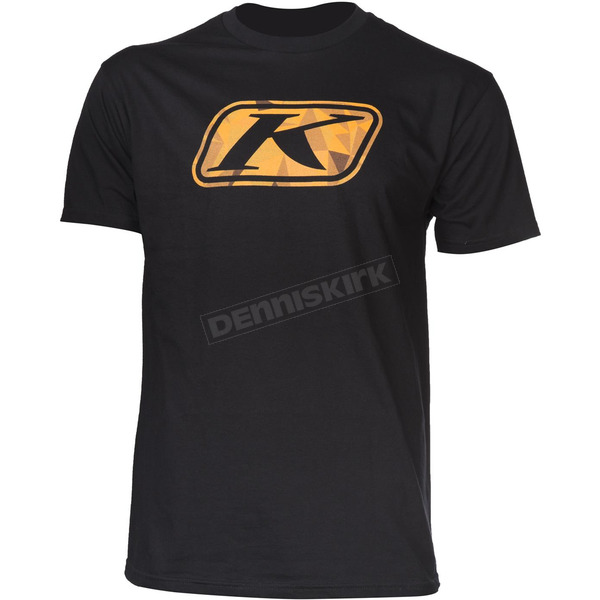 Klim Black Fractured T-Shirt - 3727-000-130-000