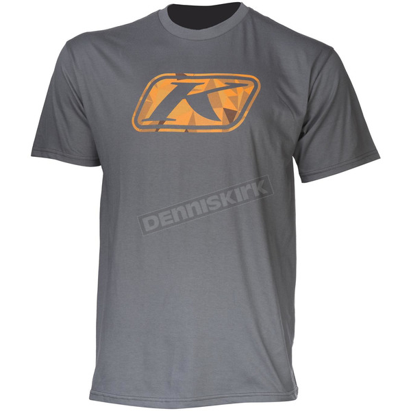 Klim Gray Fractured T-Shirt - 3727-000-130-600