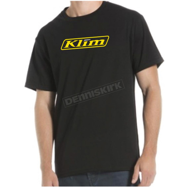 Klim Black Word T-Shirt - 3734-000-120-000