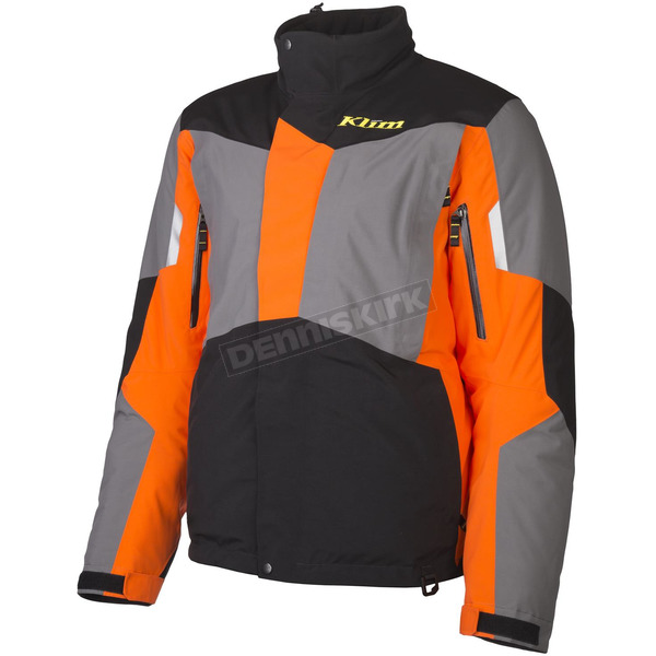 Klim Orange/Black/Gray Rohn Parka - 3392-000-170-400