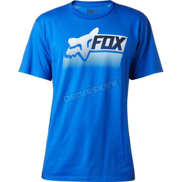 Fox Blue Processed T-Shirt - 18825-002-S