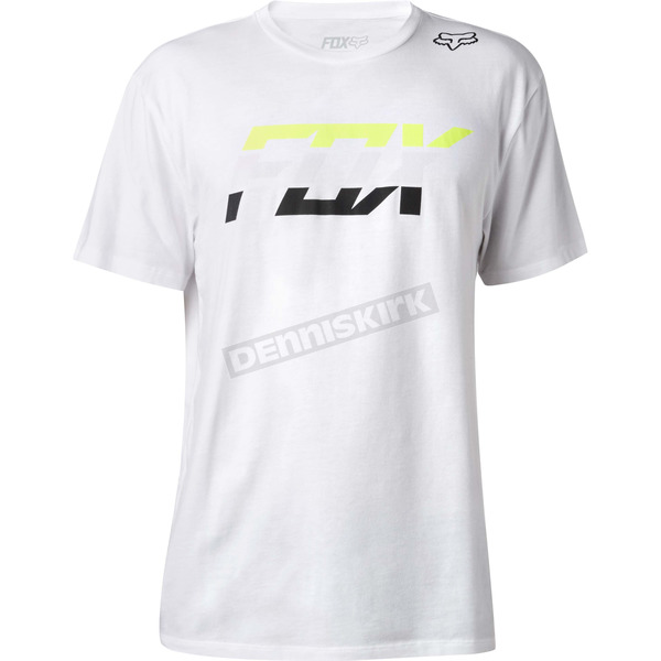 Fox Optic White Seca Splice Premium T-Shirt - 18829-190-XL