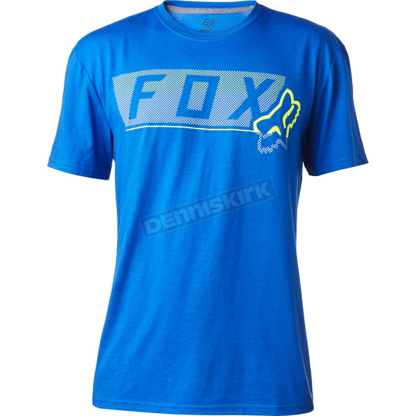 Fox Blue Moth Dots Tech T-Shirt - 18845-002-XL