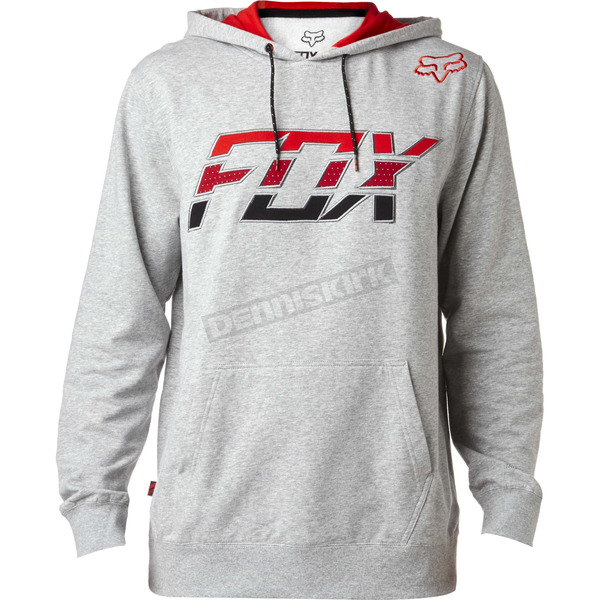 Fox Heather Gray Stretcher Seco Hoody - 18868-040-M