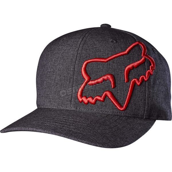 Fox Black Clouded Flex-Fit Hat - 18741-001-L/XL