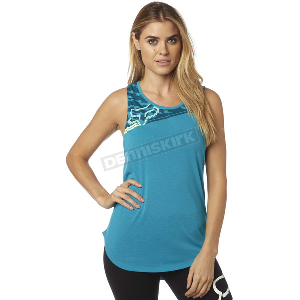 Fox Women's Jade Activated Muscle Tank Top - 18554-167-XS