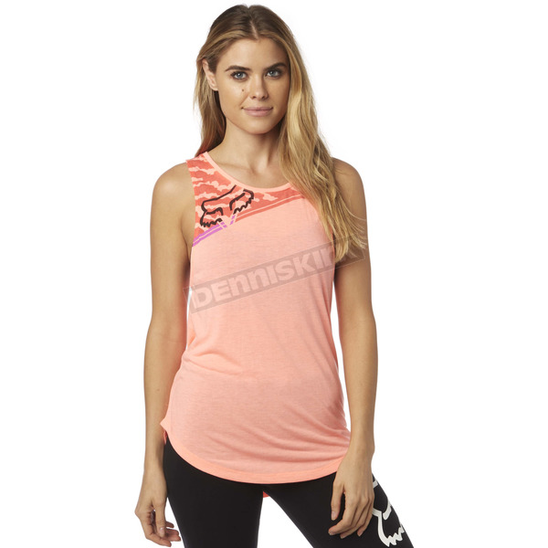 Fox Women's Melon Activated Muscle Tank Top - 18554-413-M