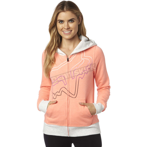 Fox Women's Melon Eyecon Zip Hoody - 18587-413-S