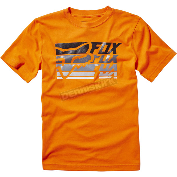 Fox Youth Orange Bodek T-Shirt - 19898-009-YL