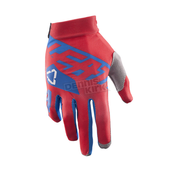 Leatt Red/Blue GPX 2.5 X-Flow Gloves - 6017310621
