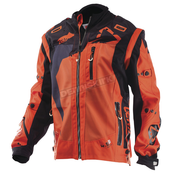 Leatt Orange/Black GPX 4.5 X-Flow Jacket - 5017810303