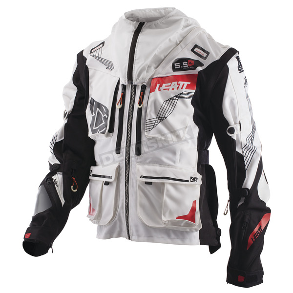 Leatt White/Black GPX 5.5 Enduro Jacket - 5017810340