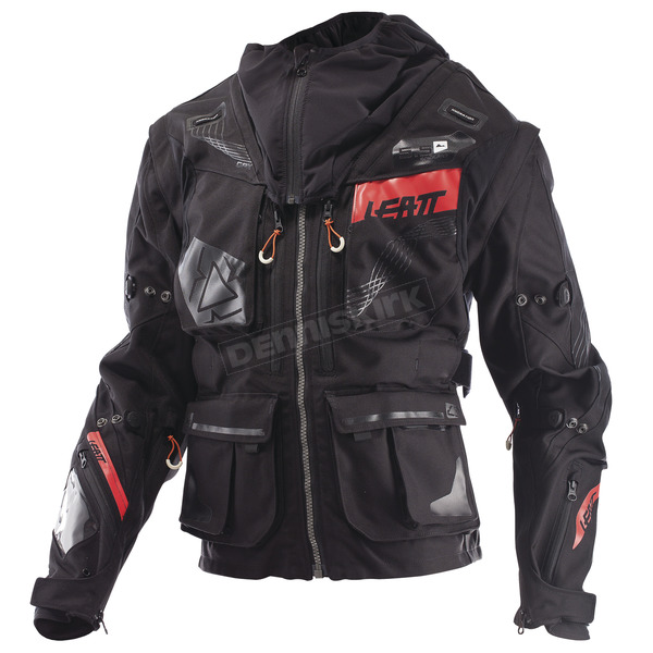 Leatt Black/Gray GPX 5.5 Enduro Jacket - 5017810364