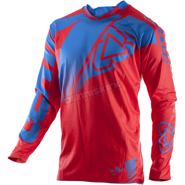 Leatt Red/Blue GPX 4.5 Lite Jersey - 5017910494