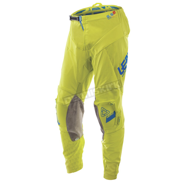 Leatt Lime/Blue GPX 5.5 I.K.S. Pants - 5017610632