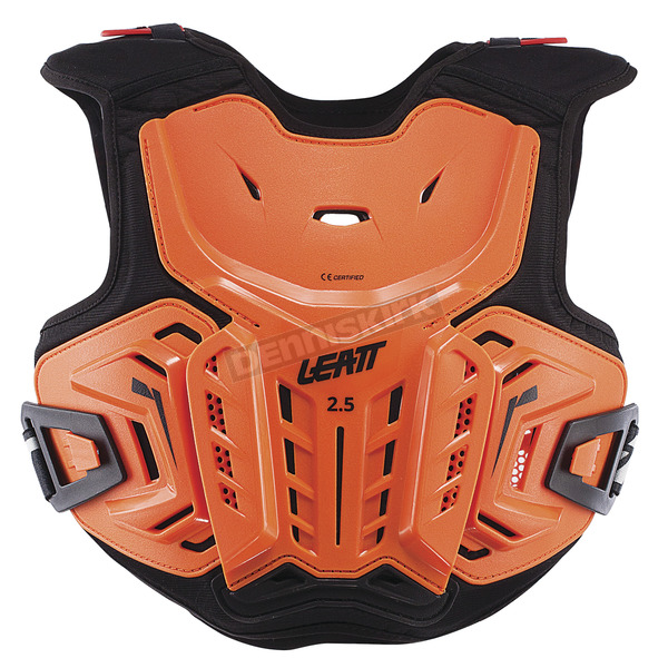 Leatt Youth Orange/Black 2.5 Chest Protector - 5017120141