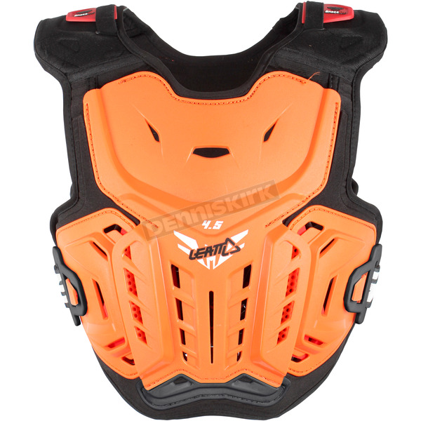 Leatt Youth Orange/White 4.5 Chest Protector - 5017120114