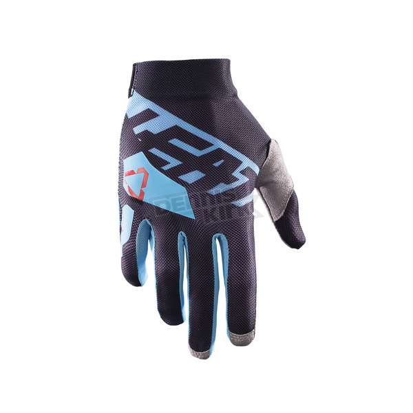 Leatt Black/Blue GPX 2.5 X-Flow Gloves - 6017310651