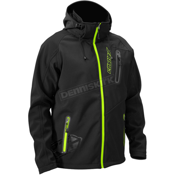 Castle X Black/Hi-Vis Barrier Tri-Lam Jacket - 70-8482