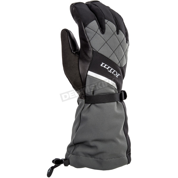 Klim Women's Allure Black/Gray Gloves - 4087-002-140-000