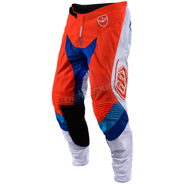 Troy Lee Designs Orange/White Corse Limited Edition SE Pants - 203500716