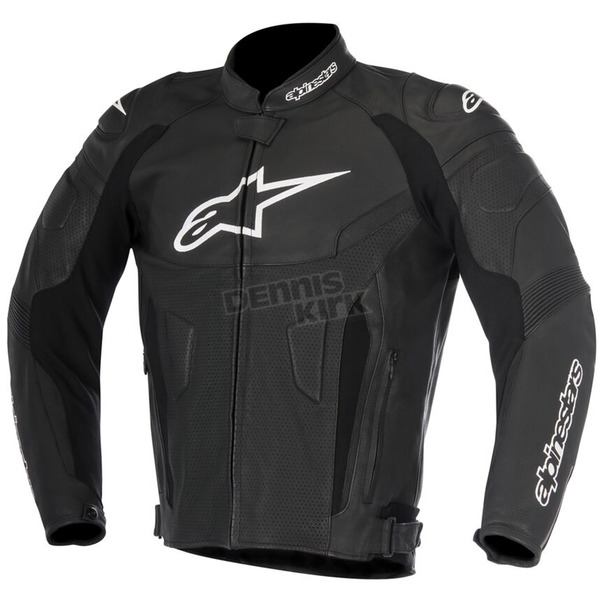 Alpinestars Black GP Plus R v2 Airflow Leather Jacket - 3100617-10-62