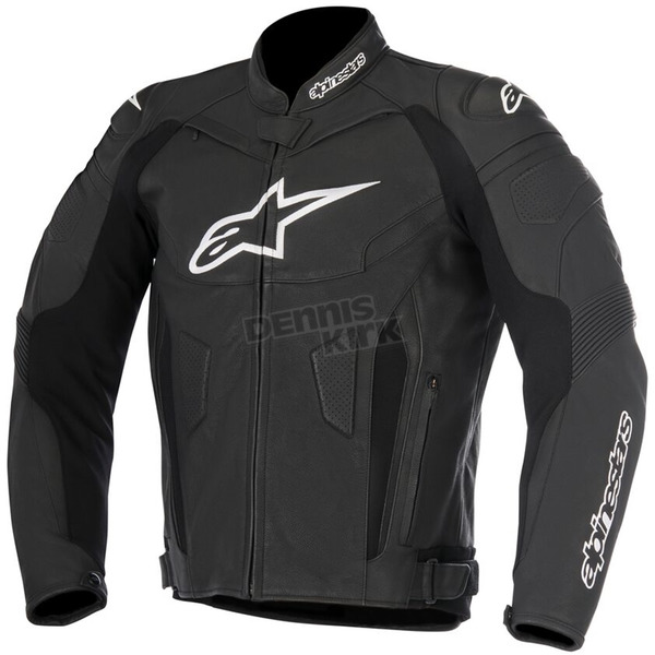 Alpinestars Black GP Plus R v2 Leather Jacket - 3100517-10-62