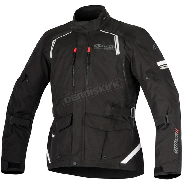 Alpinestars Black Andes v2 Drystar Jacket - 3207517-10-XL