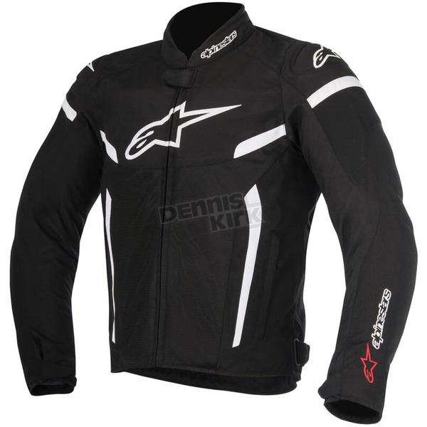 Alpinestars Black/White T-GP Plus R v2 Air Jacket - 3300617-12-L