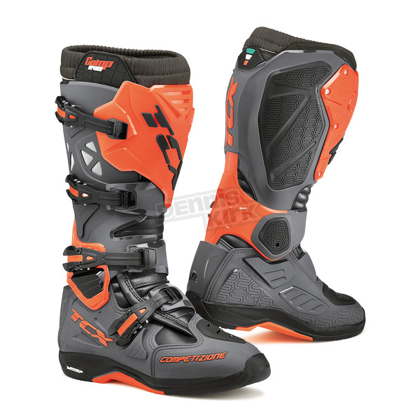 TCX Dark Gray/Orange Fluorescent Comp EVO Michelin Boots - 9661-GROF-40