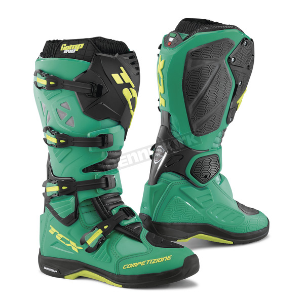 TCX Scuba Blue/Lime Comp EVO Michelin Boots - 9661 BLLI 48