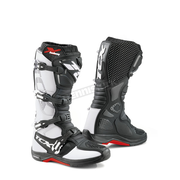 TCX White X-Helium Michelin Boots - 9671 BIAN 45