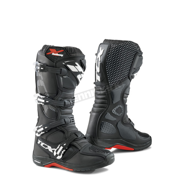 TCX Black X-Helium Michelin Boots - 9671 NERO 45