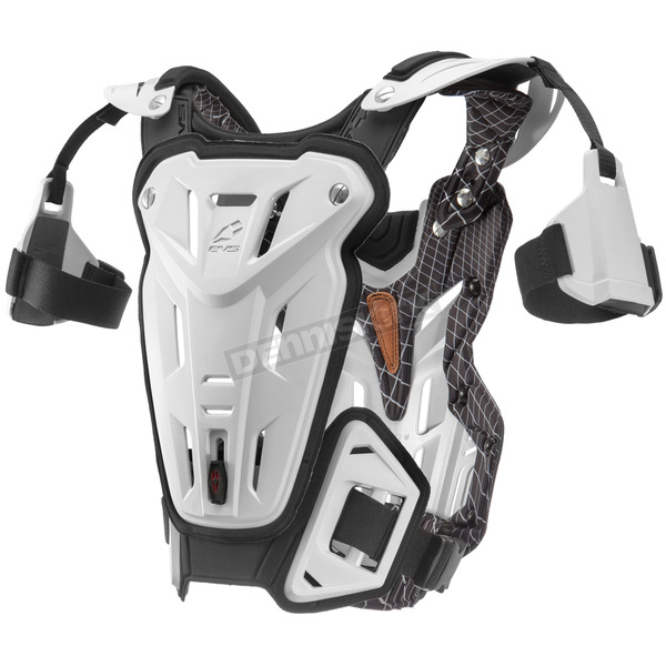 EVS Sports White F2 Roost Guard - F2WH-XL