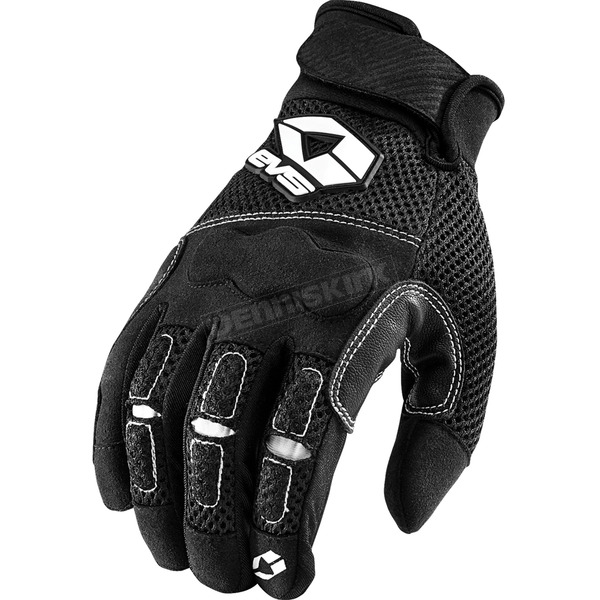 EVS Sports Black Valencia Street Gloves - 612102-0104