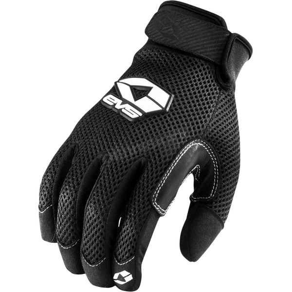 EVS Sports Black Laguna Air Street Gloves - 612101-0104