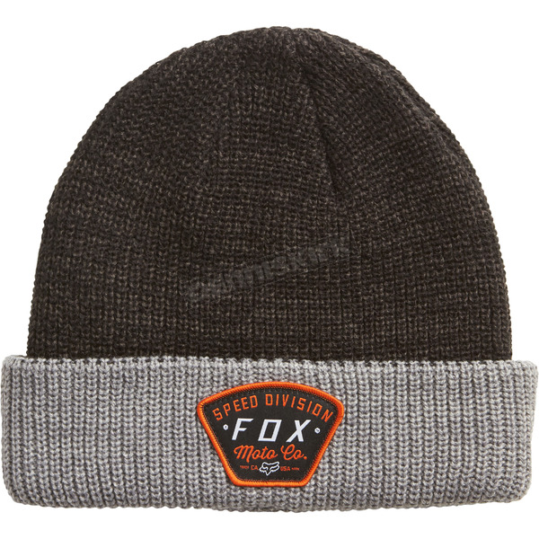 Fox Heather Graphite Sno Cat Beanie - 19586-185-OS