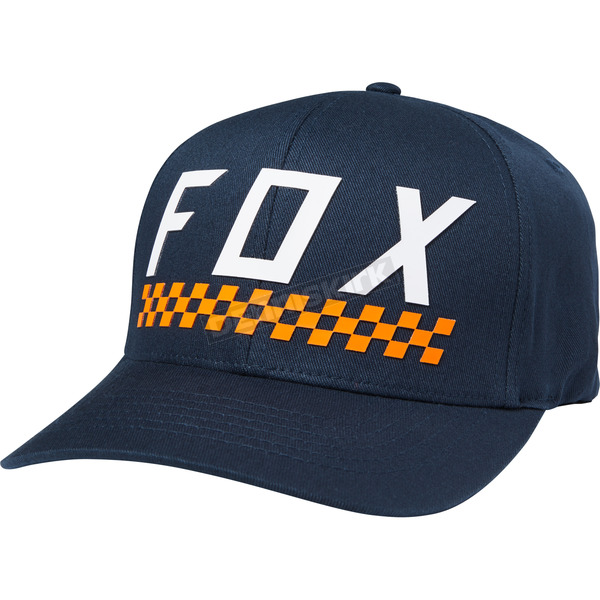 Fox Midnight Check Yo Self FlexFit Hat - 19570-329-S/M