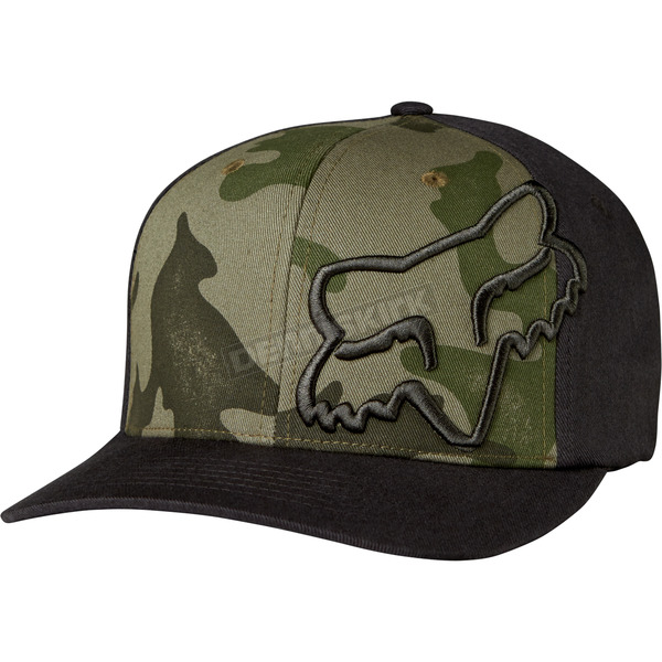 Fox Camo Forty Fiver FlexFit Hat - 19556-027-L/XL