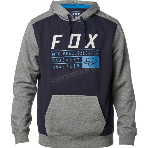 Fox Midnight District 3 Pullover Hoody - 19692-329-XL