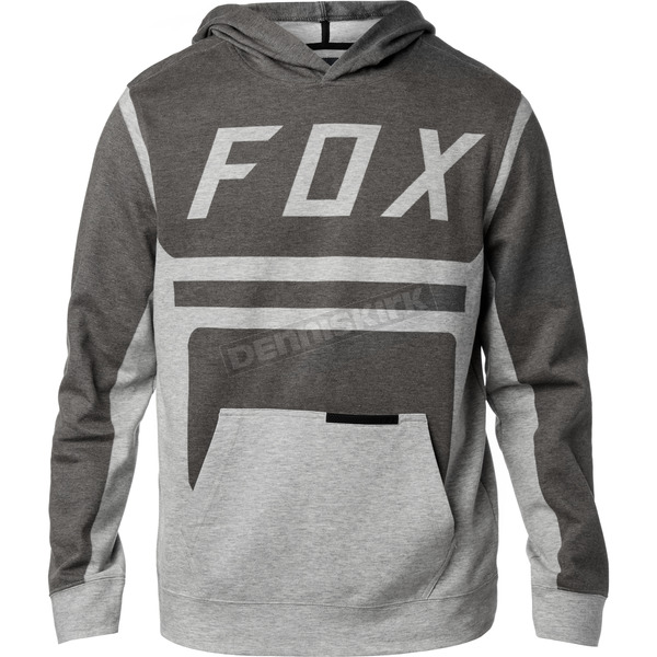Fox Black Moth Pullover Hoody - 19684-001-2X